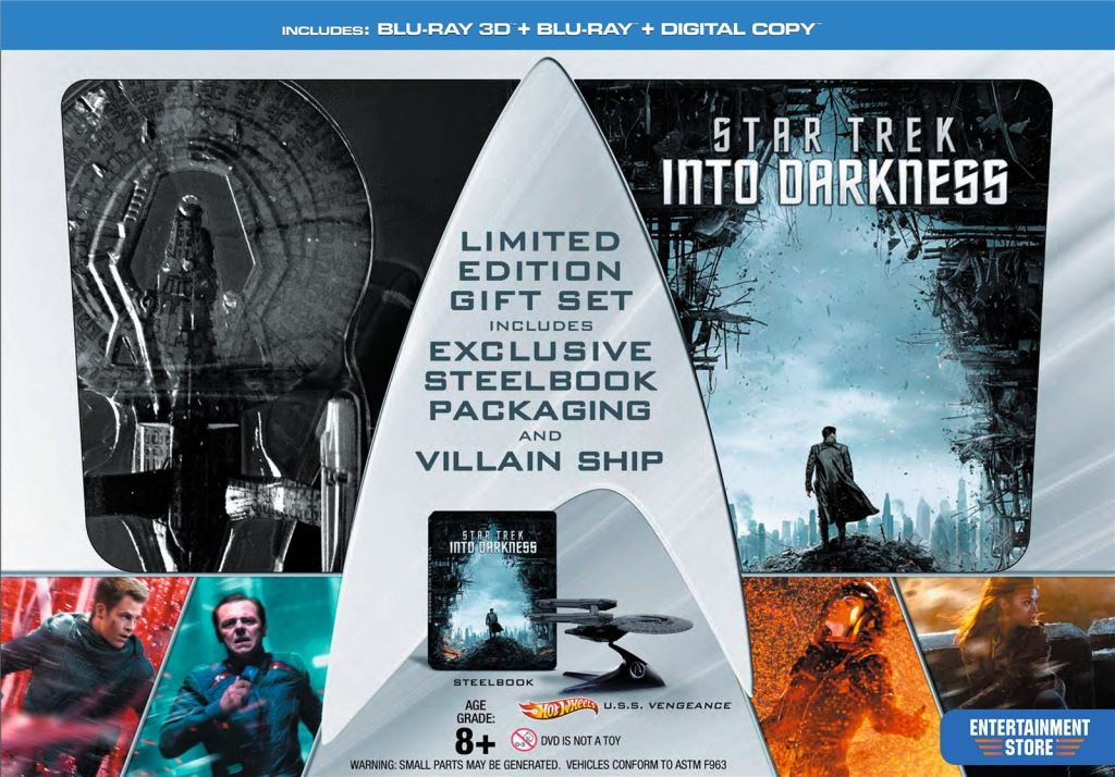 Star Trek Into Darknes Limited Edition Gift Set Walmart