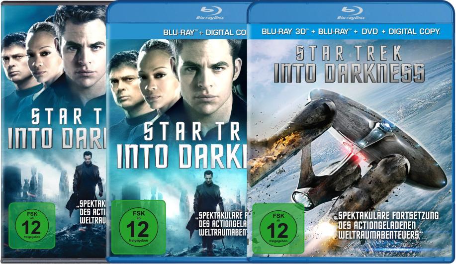 Star Trek Into Darkness auf Scheibe