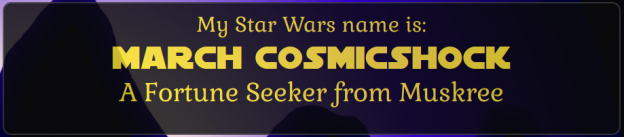 Mein Star-Wars-Name