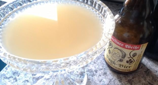 Berliner Weiße von Bogk-Bier