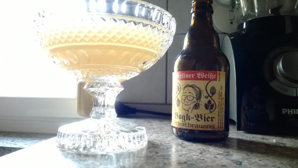 Berliner Weiße aus der Bogk-Bier Privatbrauerei