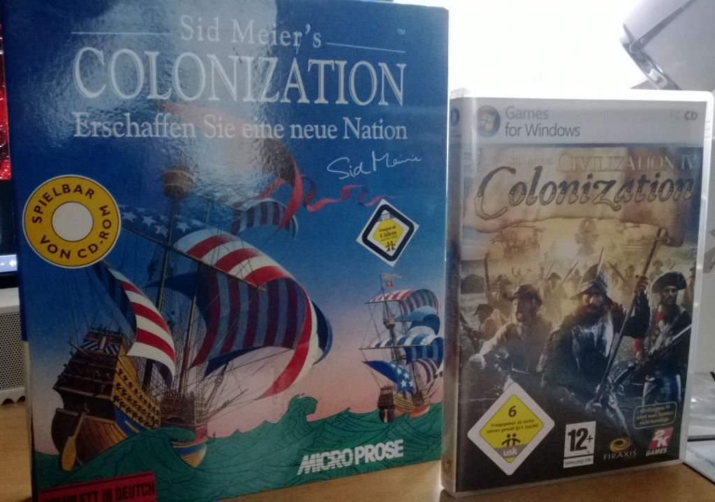 Colonization Schachtel