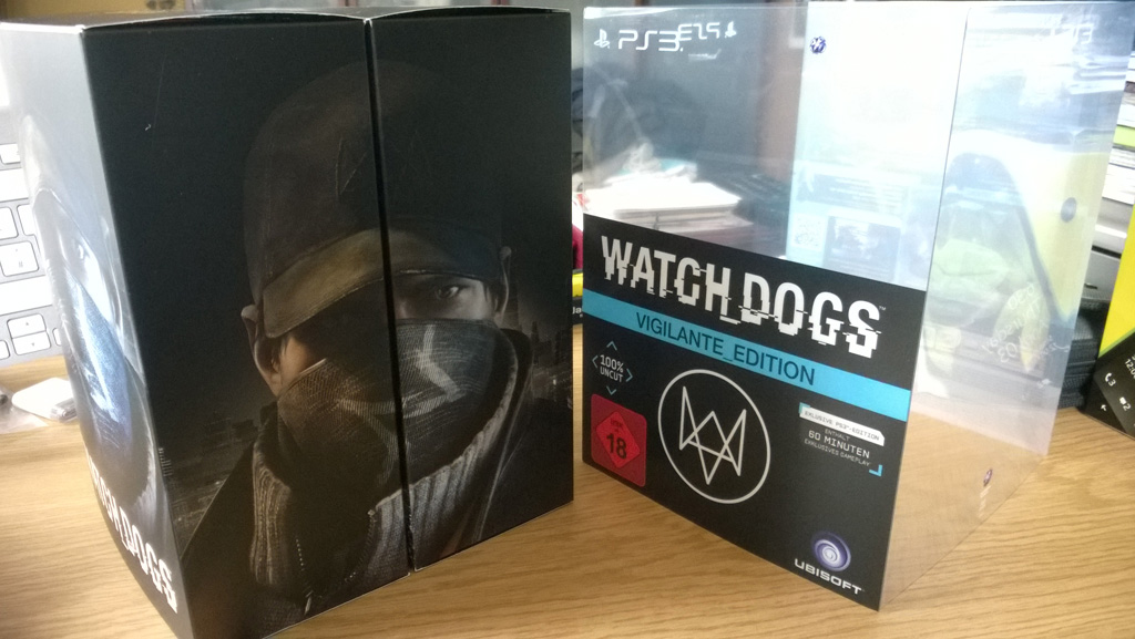Watch Dogs - Vigilante Edition - Box