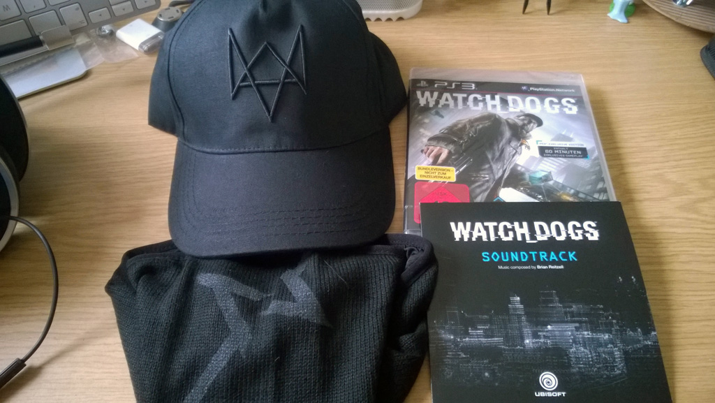Watch Dogs - Inhalt der Vigilante Edition