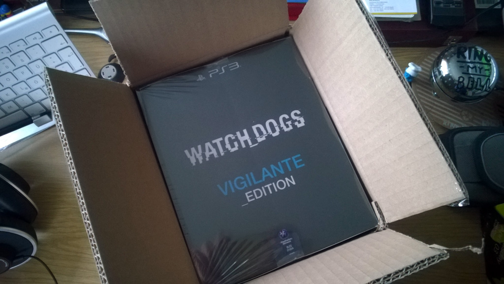 Watch Dogs unboxed