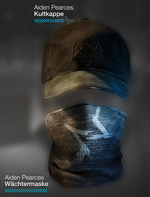 Watch Dogs - Kappe & Maske der Vigilante Edition