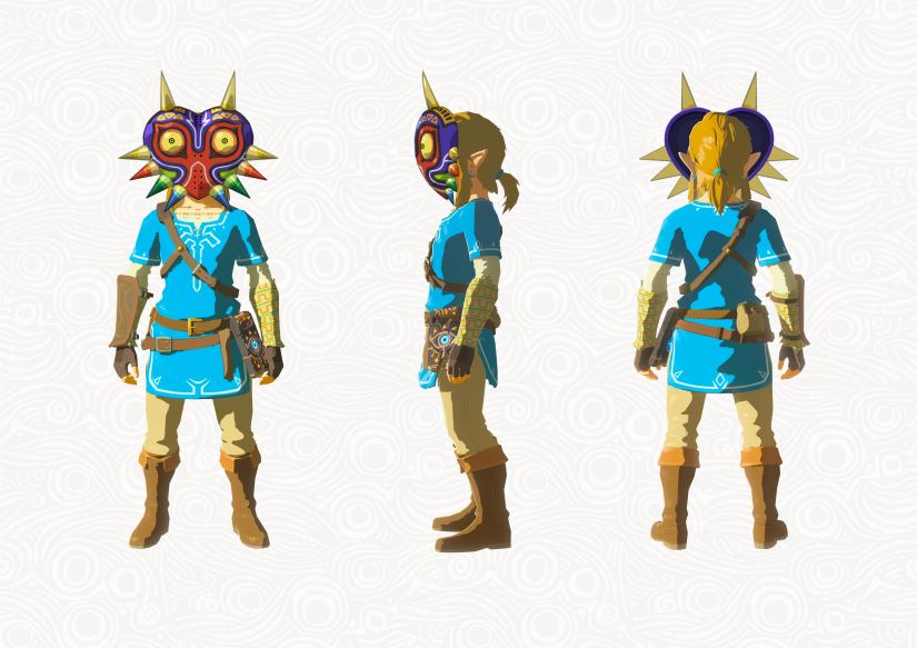 Zelda - Breath of the Wild - DLC - Majoras Maske