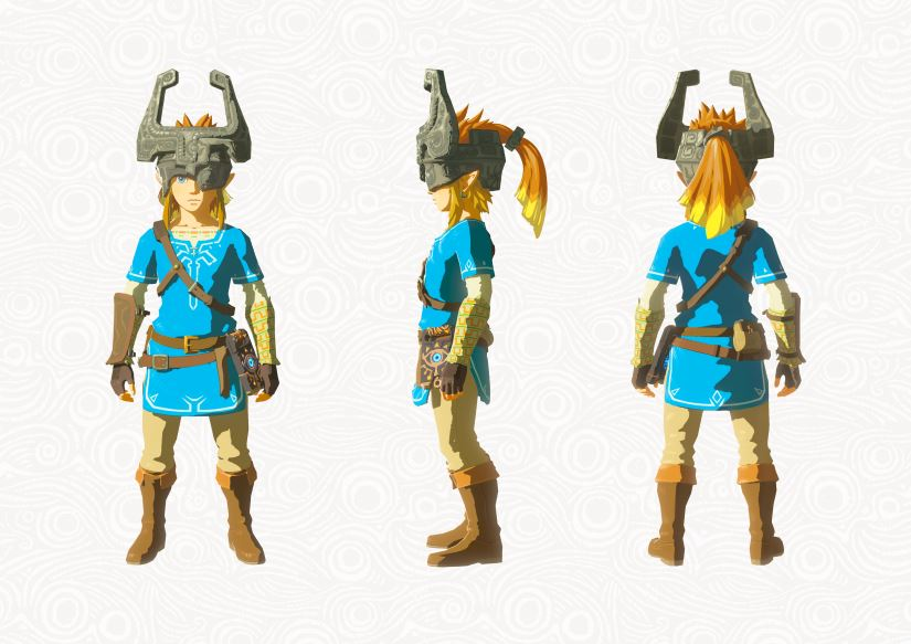 Zelda - The Breath of the Wild - DLC - Midnas Helm