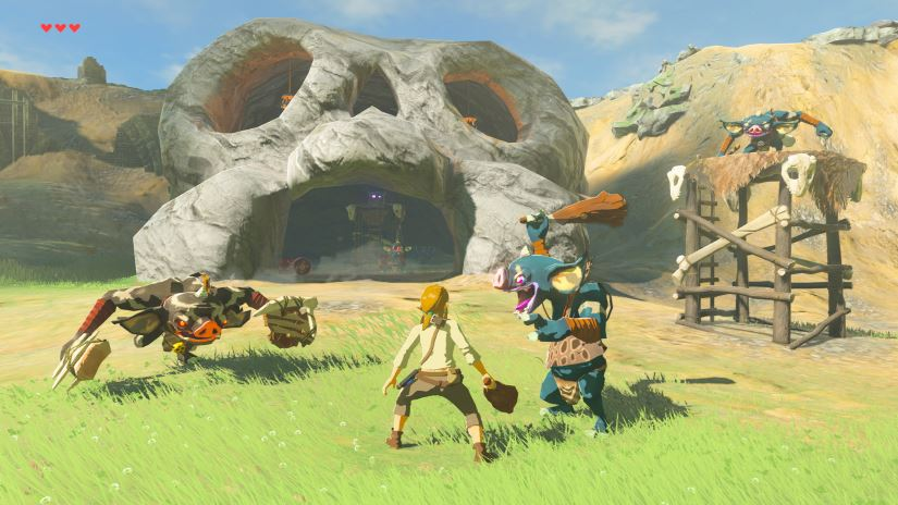 Zelda - The Breath of the Wild - Schwerer Modus