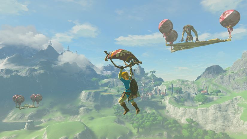 Zelda - The Breath of the Wild - Schwerer Modus - Ballonplattformen