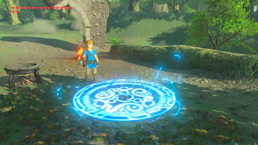 Zelda - The Breath of the Wild - Teleport-Medaillon