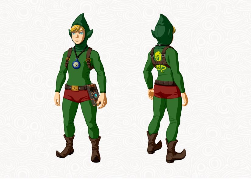 Zelda - The Breath of the Wild - DLC - Tingles Outfit
